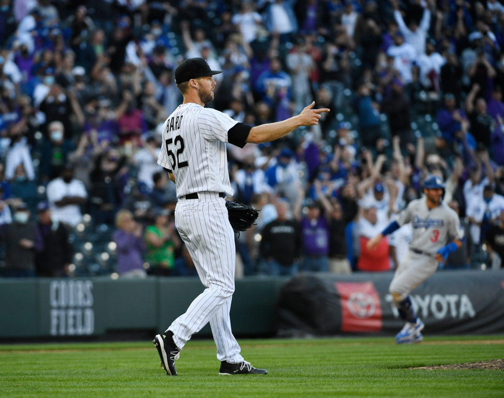 Rockies top champion Dodgers on opening day at Coors Field 1
