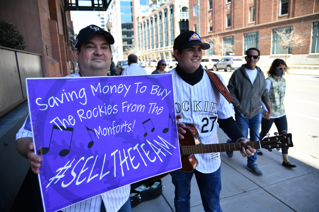 Rockies fans aren't embracing Dick Monfort and Jeff Bridich. But 2021's Opening Day win felt like a giant baseball hug. 1
