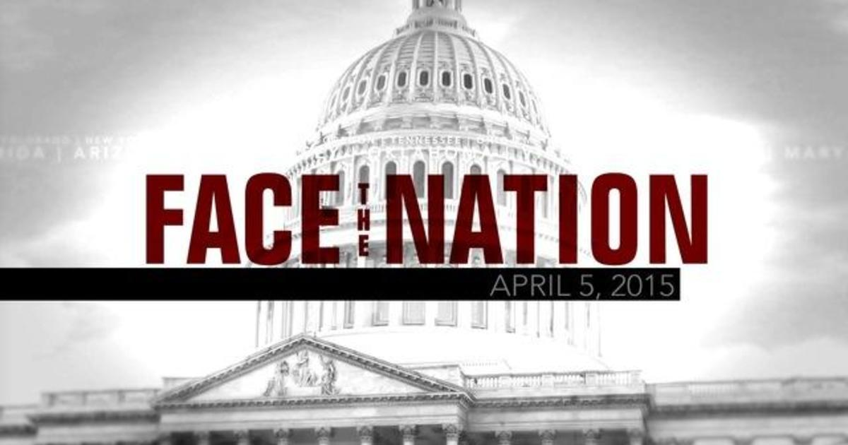 Open: This is Face the Nation, April 5 1