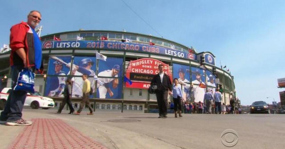 Wrigley Field, the baseball mecca, not ready for opening day 1