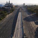 Good Friday and virus lockdown empty Manila's streets 5