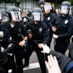 LAPD halts use of some projectile weapons at protests in court win for BLM Los Angeles 3