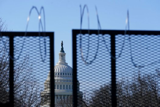 Capitol on lockdown after reports of gunfire 1