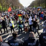 Hundreds rally against German COVID-19 lockdown law 2