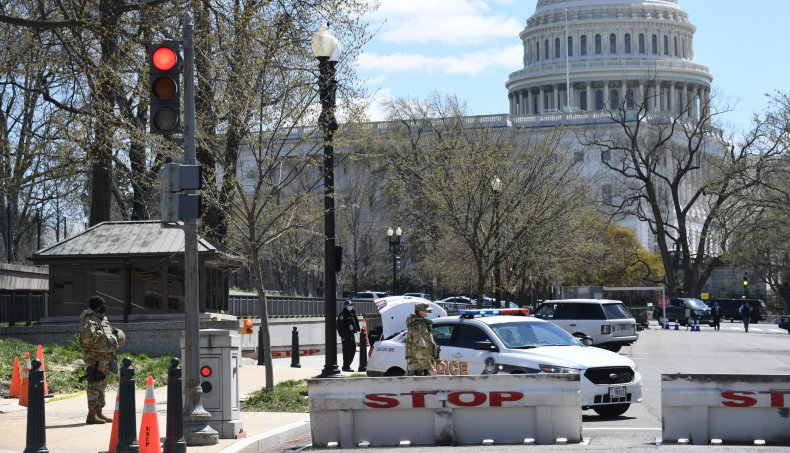 Capitol Police Say Two Officers Rammed by Car, Suspect in Custody 1
