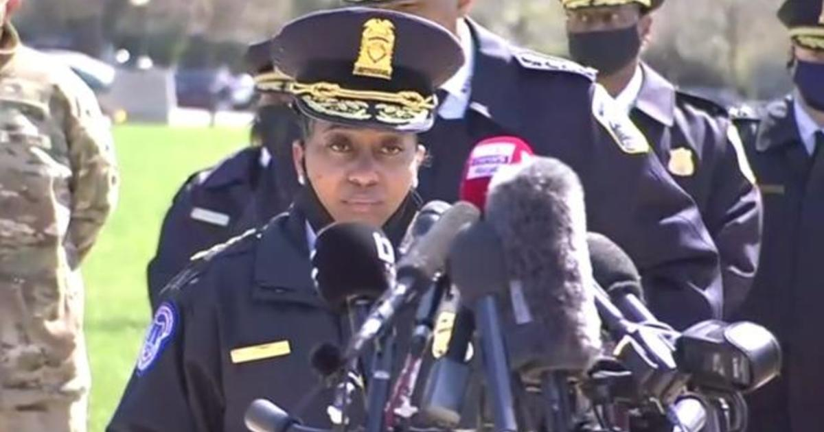Capitol Police say 1 officer killed, 1 injured when car rams barricade 1