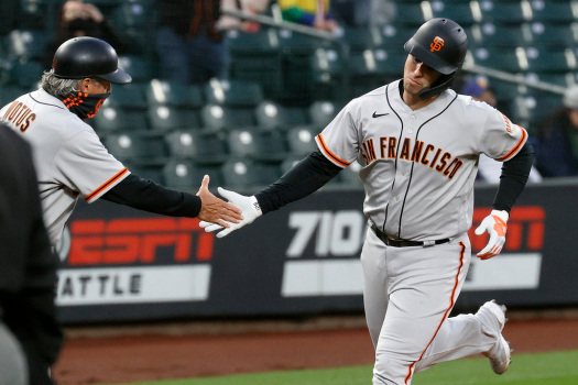SF Giants HQ: Kapler's first bullpen moves, the key number from Posey's home run and Opening Day hope 1