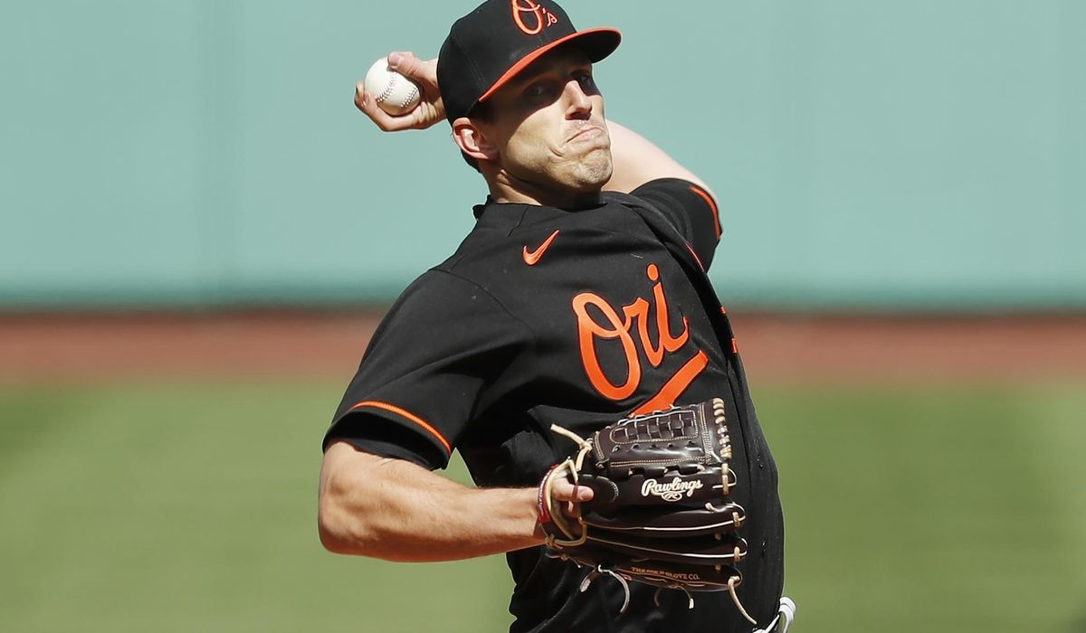 Orioles' Means means business in opener, beats Red Sox 3-0 1