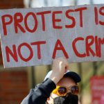 Rallies planned across Britain against new protest law 8