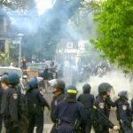 Baltimore protests turn violent 5