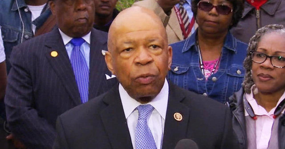 Elijah Cummings commends charges against Baltimore officers, urges patience 1