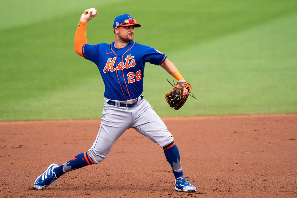 Mets' J.D. Davis: Focus has been on baseball not COVID-19 vaccine decison 1