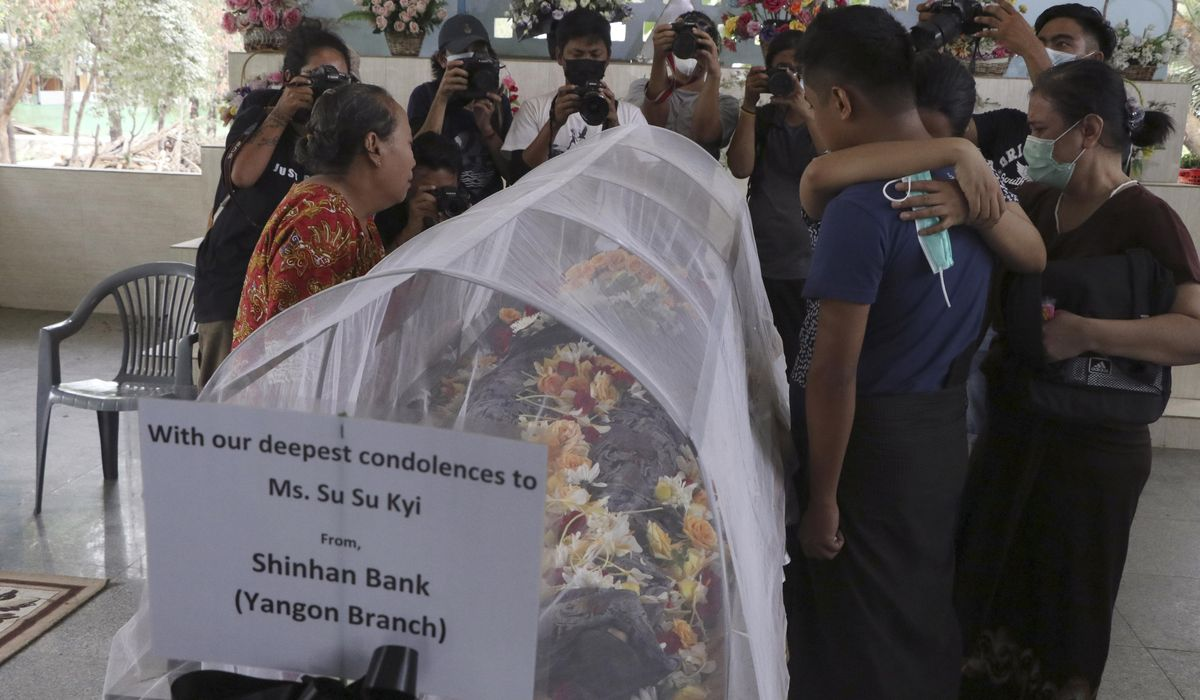 Myanmar death toll mounts amid protests, military crackdown 1