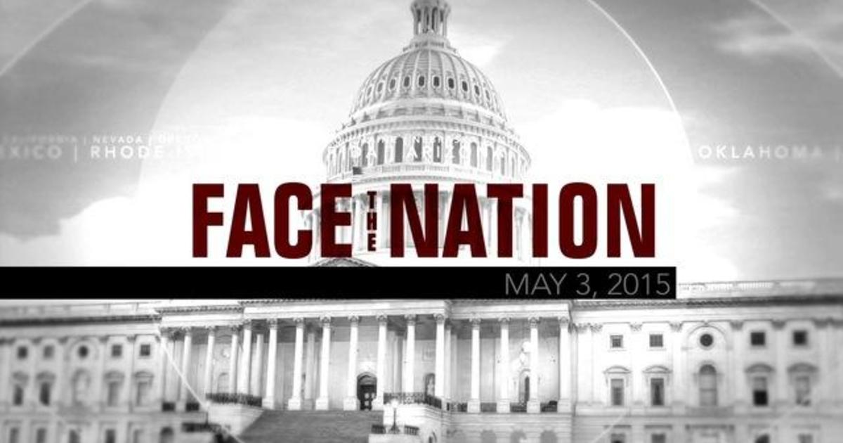 Open: This is Face the Nation, May 3 1