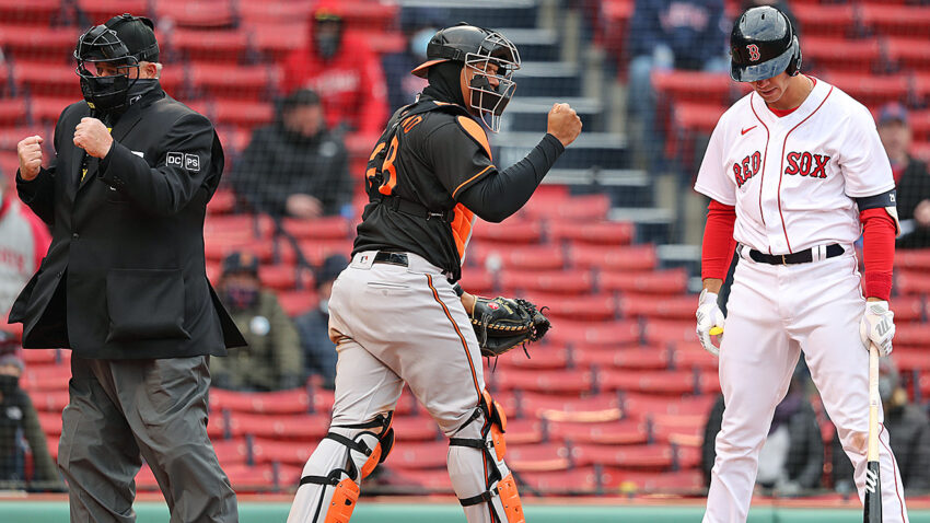 10 thoughts on the Red Sox' Opening Day shutout loss to the Orioles 1