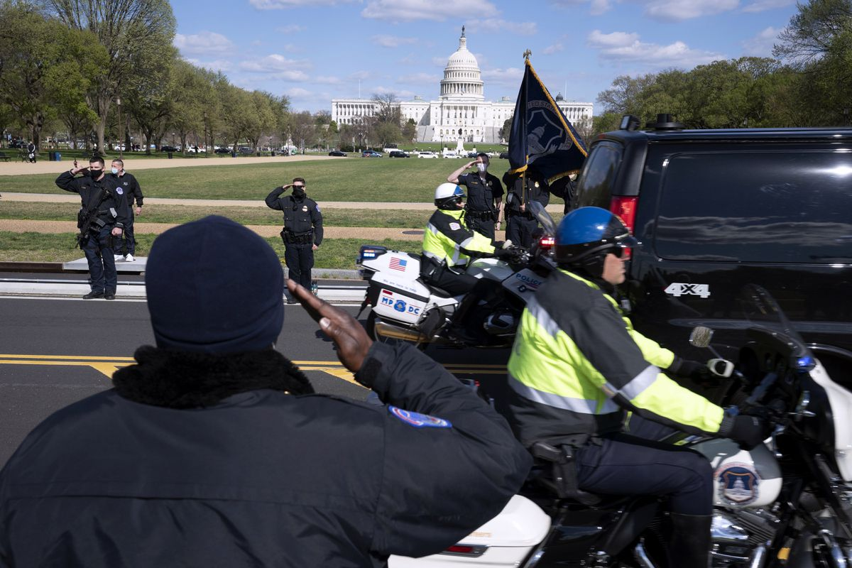 Slain Capitol Officer William Evans, suspect Noah Green took different paths to their fatal D.C. encounter 1
