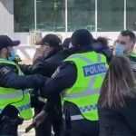 VIDEO: Police Arrest Protesters As Canadians Take To Streets Demanding End To Unscientific Lockdowns 6
