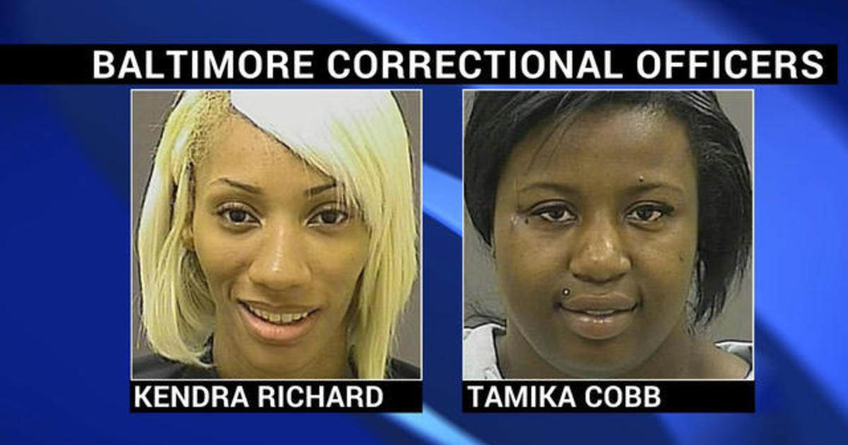 Baltimore corrections officers are accused of looting during riots 1