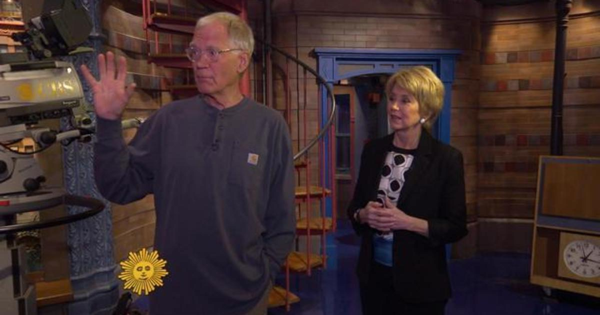 """Letterman opens up about """"Late Show"""" ending 1"""