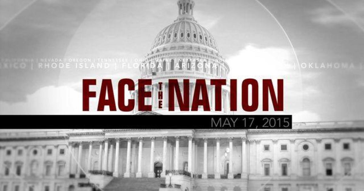 Open: This is Face the Nation, May 17 1
