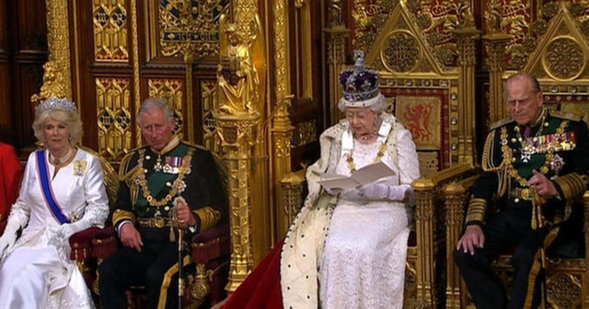 Pomp and tradition for the opening of British Parliament 1