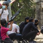 Myanmar anti-coup protesters launch 'Easter egg strike' 5