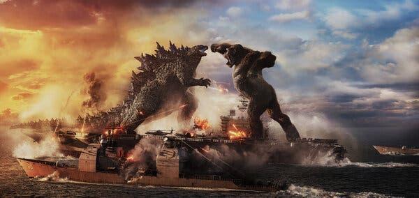 'Godzilla vs. Kong' Roars at the Box Office With $48.5 Million 1