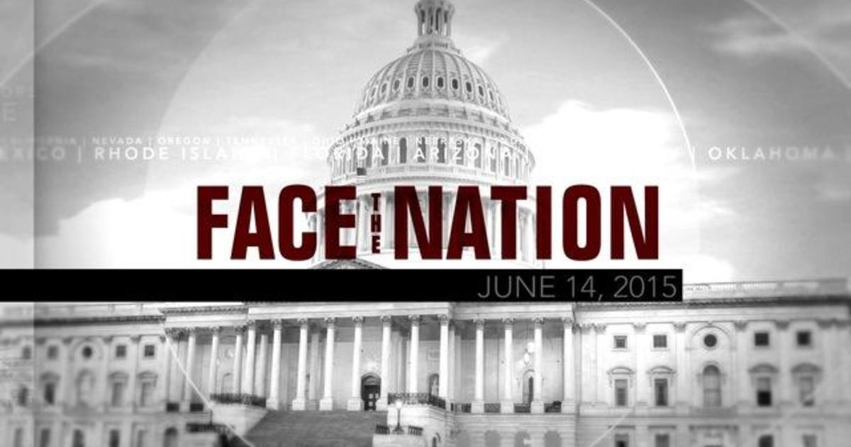 Open: This is Face the Nation, June 14 1