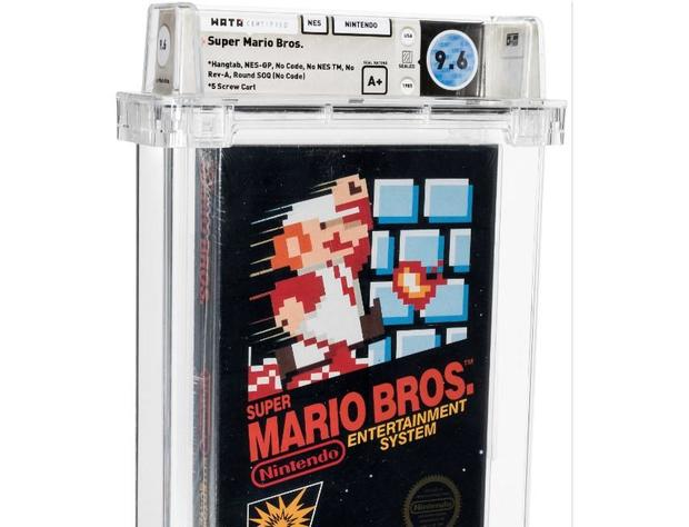 Unopened Super Mario Bros. game from 1986 auctioned for $660,000 1