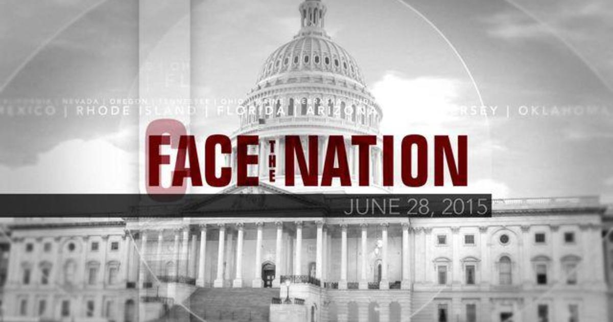 Open: This is Face the Nation, June 28 1