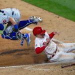 Mets lose season opener to Philliesas bullpen ruins Jacob deGrom's gem 8