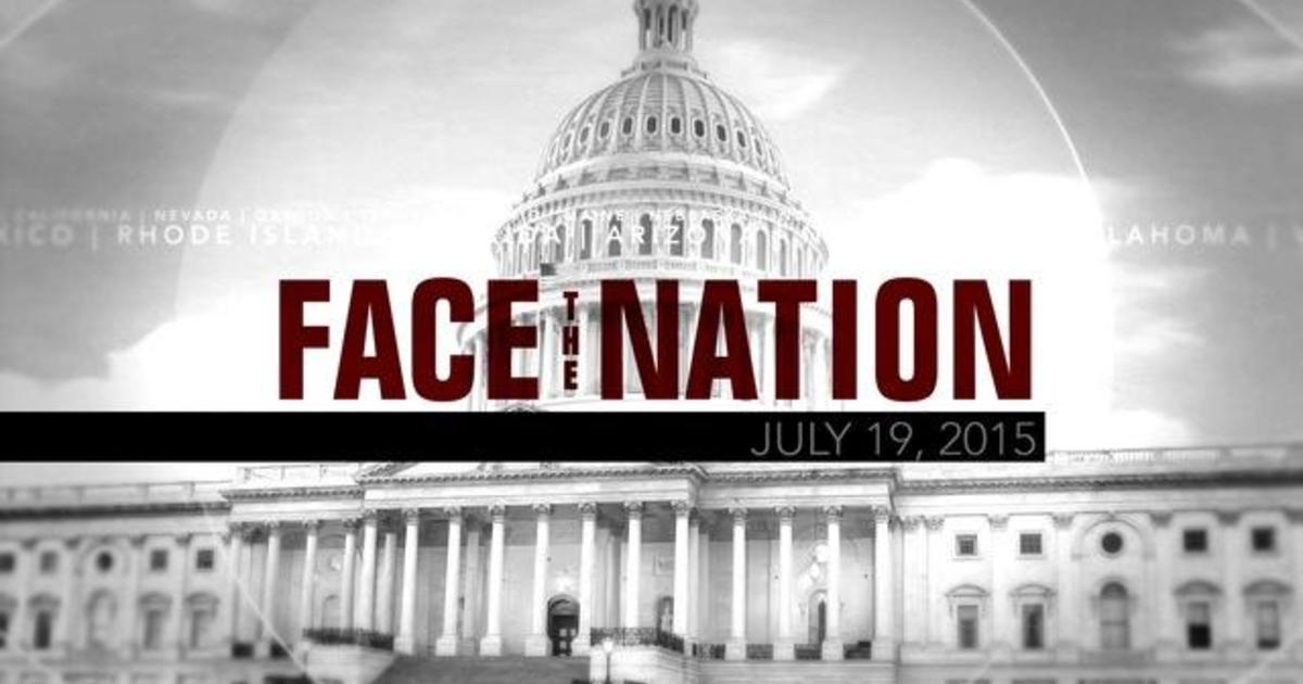 Open: This is Face the Nation, July 19 1