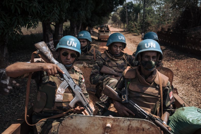 As World Wages War on COVID-19, U.N. Troops Fight on the Front Lines 1