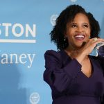 Acting Boston Mayor Kim Janey announces candidacy for office 5