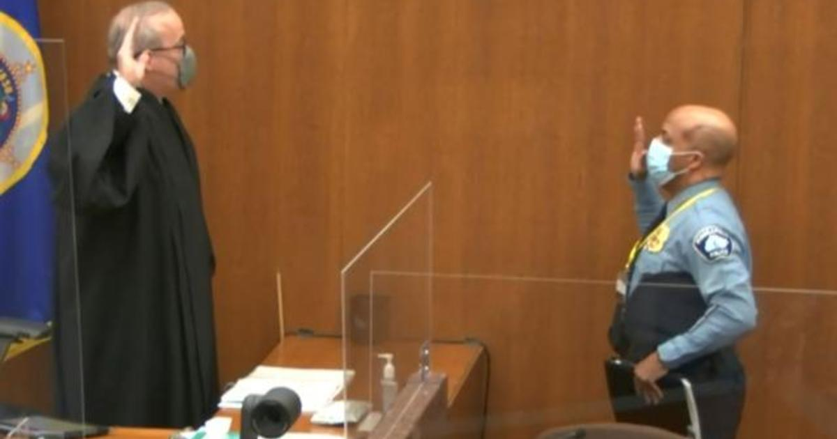 Eye Opener: Minneapolis police chief testifies in Chauvin trial 1