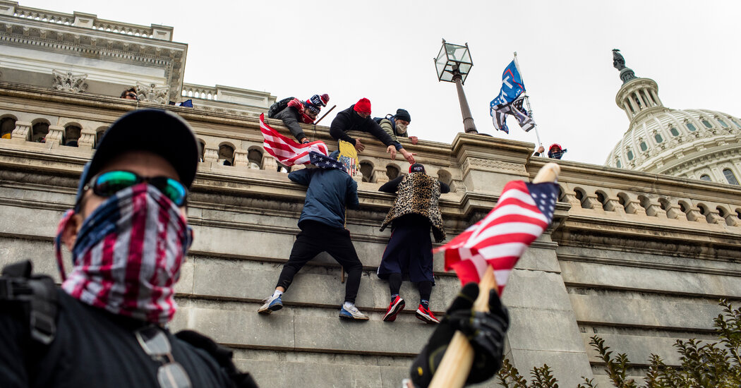 Fears of White People Losing Out Permeate Capitol Rioters' Towns, Study Finds 1