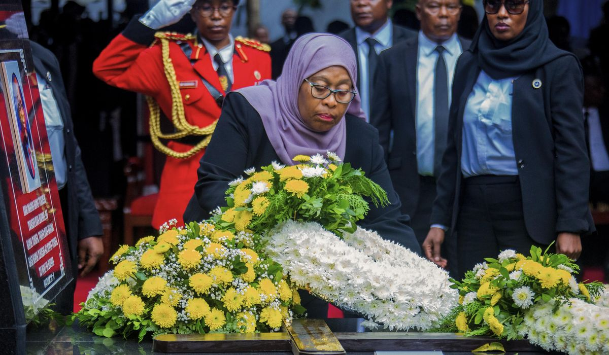 Tanzania's new president changes policy on COVID-19, media 1