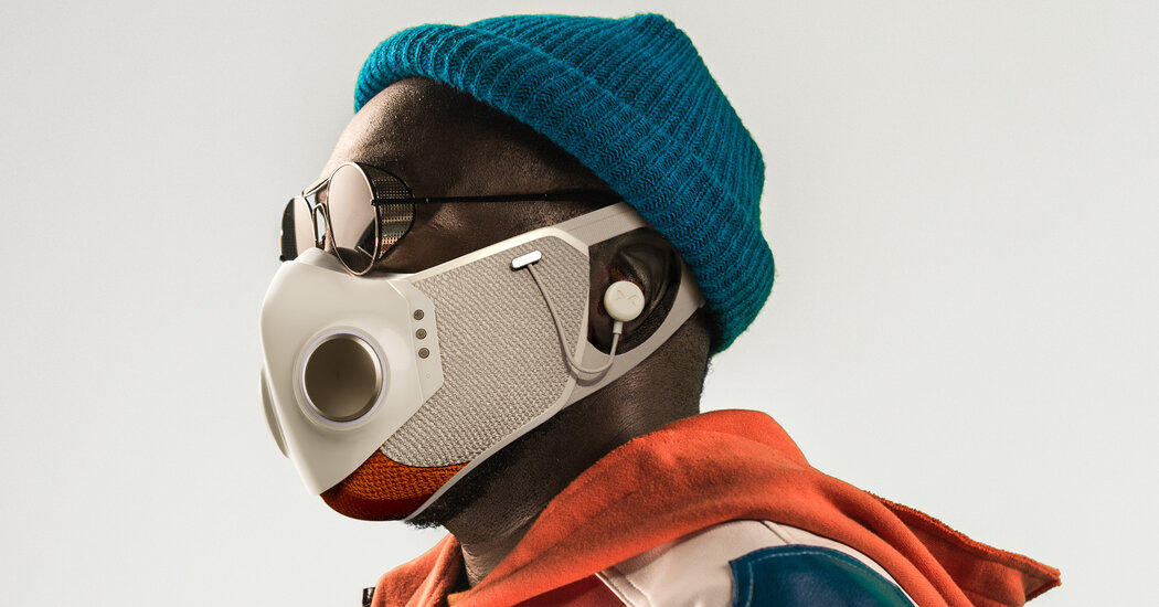 Will.i.am. and Honeywell Unveil $299 Face Mask 1