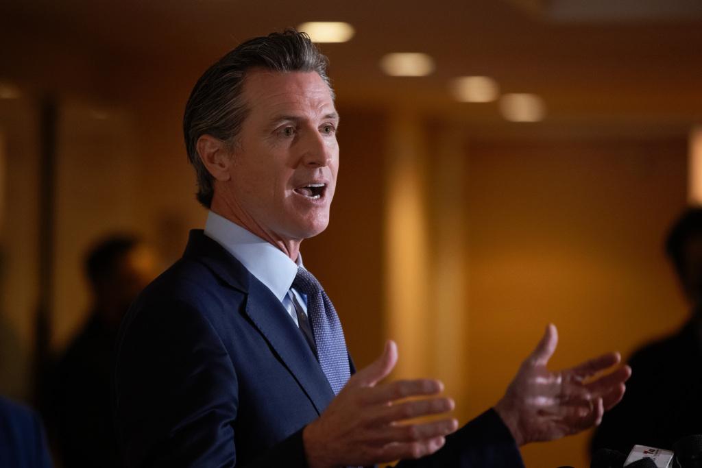 Watch: California Gov. Gavin Newsom on state's reopening plan, April 6 1
