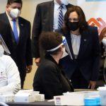 Vice President Kamala Harris visits Chicago COVID-19 vaccination facility for union workers: 'We are all in this together.' 5