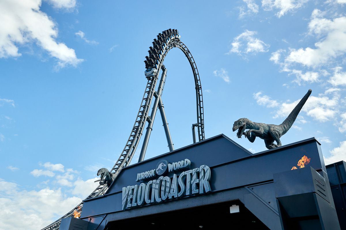 'The most intense coaster ever': Universal Orlando reveals opening date for Jurassic World VelociCoaster 1