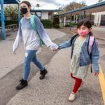 Cupertino Union students go back to class part time 7
