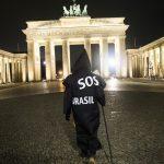 'Grim reaper' Berlin artist protests Brazil's virus stance 7