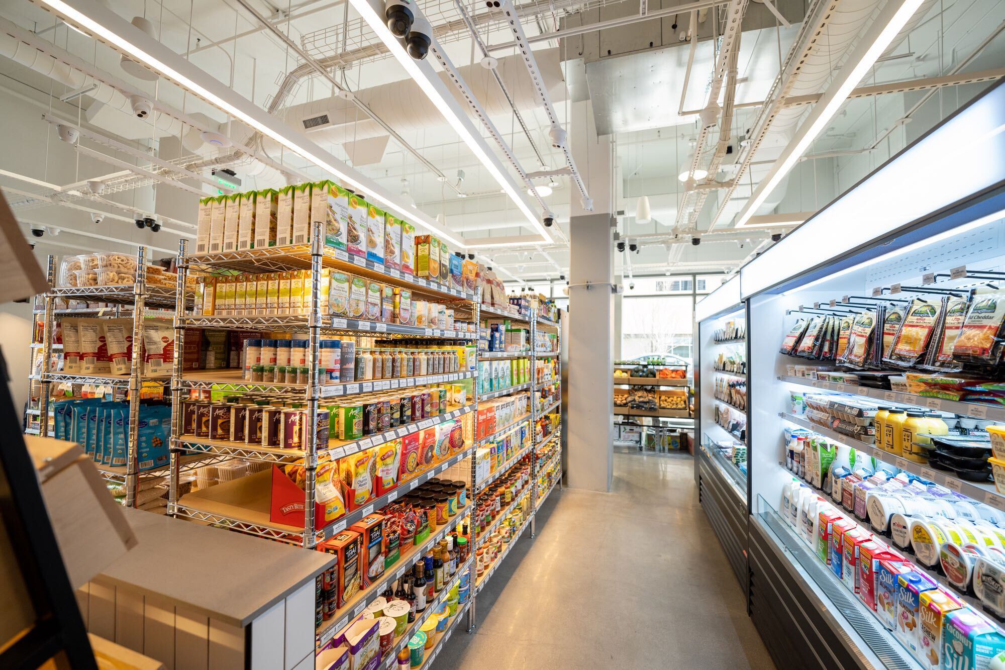 Choice Market opens high-tech store featuring an ice cream shop inside 1
