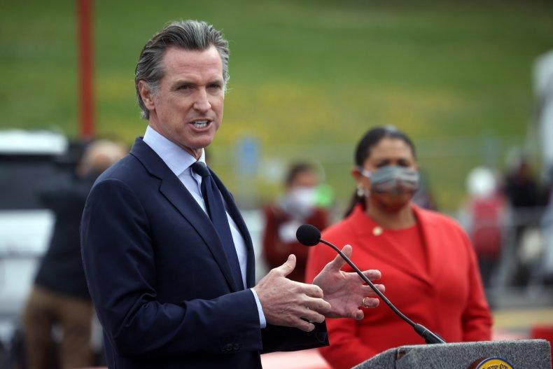 Gavin Newsom Denies California's Reopening Is Motivated by Recall Effort 1
