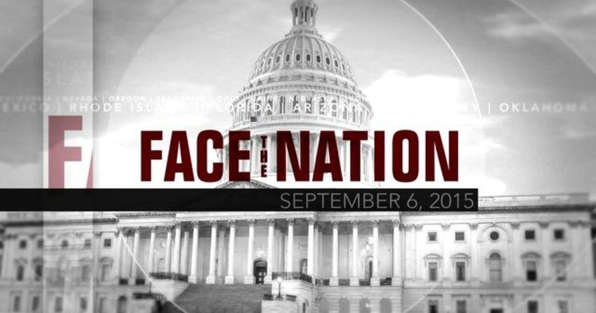 Open: Face the Nation, September 6 1