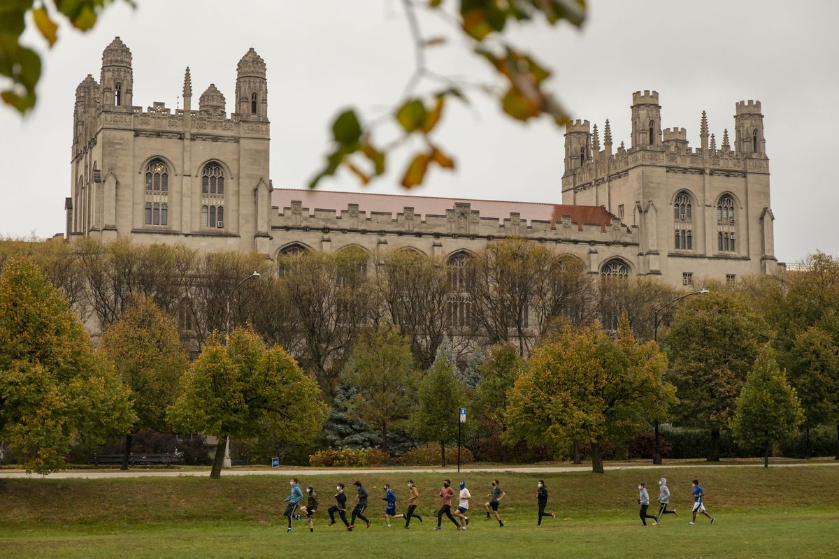 Stay-at-home order issued at University of Chicago as COVID-19 spikes; school eyes link to fraternity parties, cancels in-person classes 1