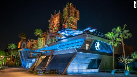 Disney sets opening date for Marvel's Avengers Campus 1