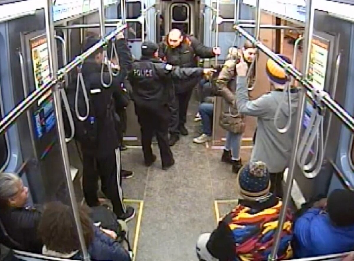 Two officers involved in controversial shooting on CTA platform now face firing from Chicago Police Department 1