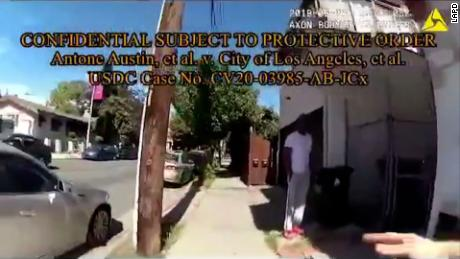 LAPD officers accused of racial profiling during arrest of Black man outside his home 1